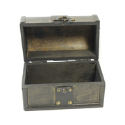 Vintage Style Wooden Treasure Chest Medium