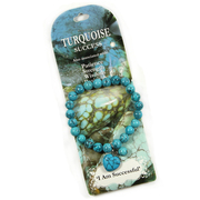 Bracelet Turquoise with Heart Charm