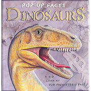 Dinosaurs - Pop up Facts Hardback Book