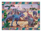 Melissa & Doug Dino Dusk Sticker By Number
