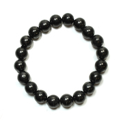 Shungite Bead Bracelet 10mm