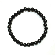 Shungite Bead Bracelet 6mm