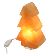 Red Selenite Tree Lamp 8""