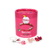 Pipkits Raspberry Berries Beaded Bracelet Kit
