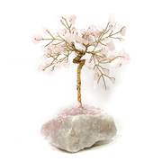 "3"" Gem Tree Rose Quartz"