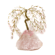 "5"" Gem Tree Rose Quartz"