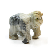 Soapstone Gorilla Carving 65mm