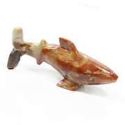 Soapstone Shark Carving 65mm