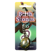 Birthstone Keyring Leo - Tiger Eye