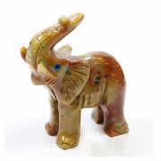 Soapstone Carving Elephant 65mm
