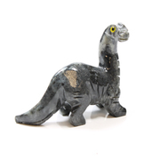 Soapstone Brontosaurus Carving 65mm