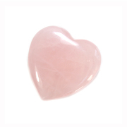 Rose Quartz Gemstone Heart Small