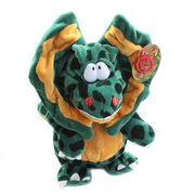 Podgeys Soft Toy Dinosaur Green