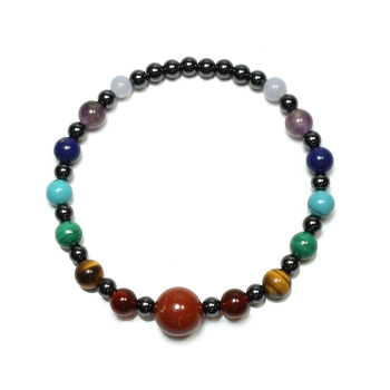 photo of Chakra Hematite Bracelet