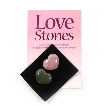 Love Stones in Velvet Pouch