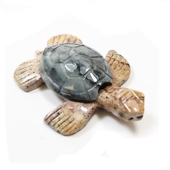 photo of Soapstone Turtle Carving 65mm
