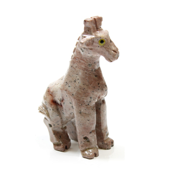 photo of Soapstone Giraffe Carving 65mm