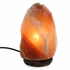 Salt Lamp with Wood Base