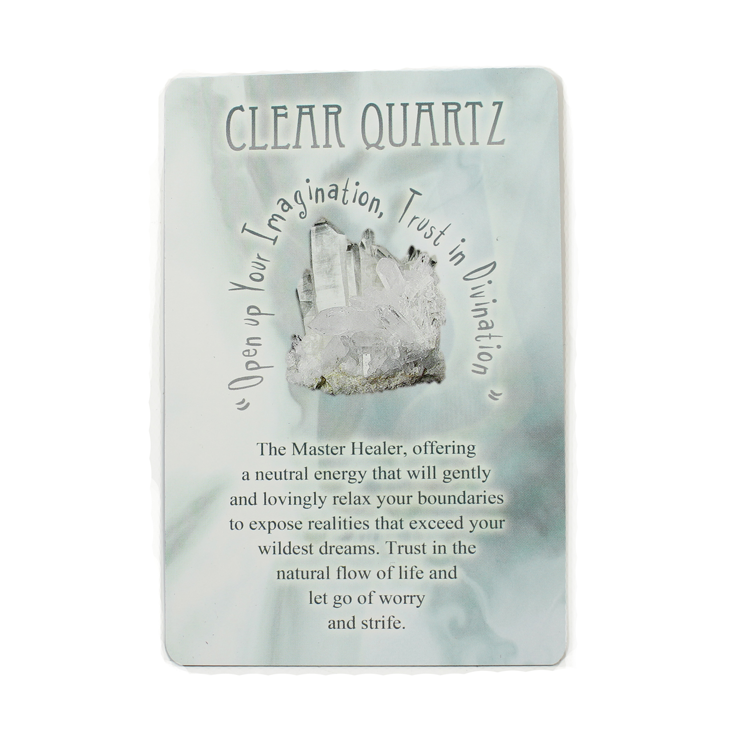 Messages from Mother Earth - Clear Quartz