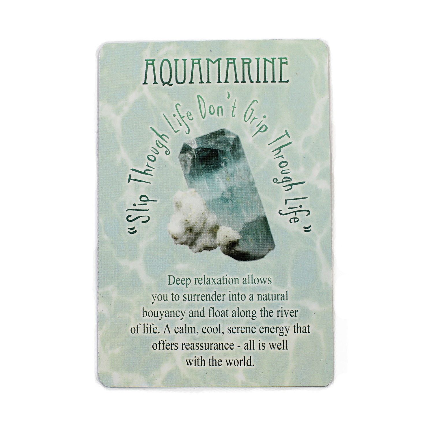 Messgaes from Mother Earth - Aquamarine