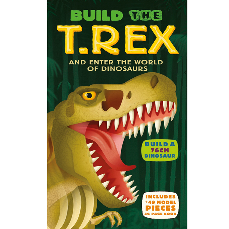 Build the T Rex Hardback Book