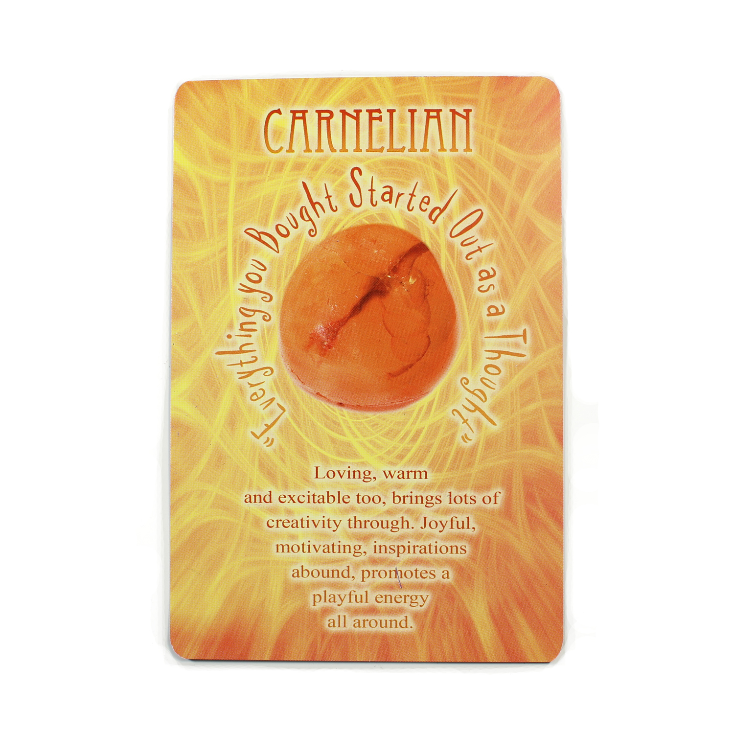 Message from Mother Earth - Carnelian