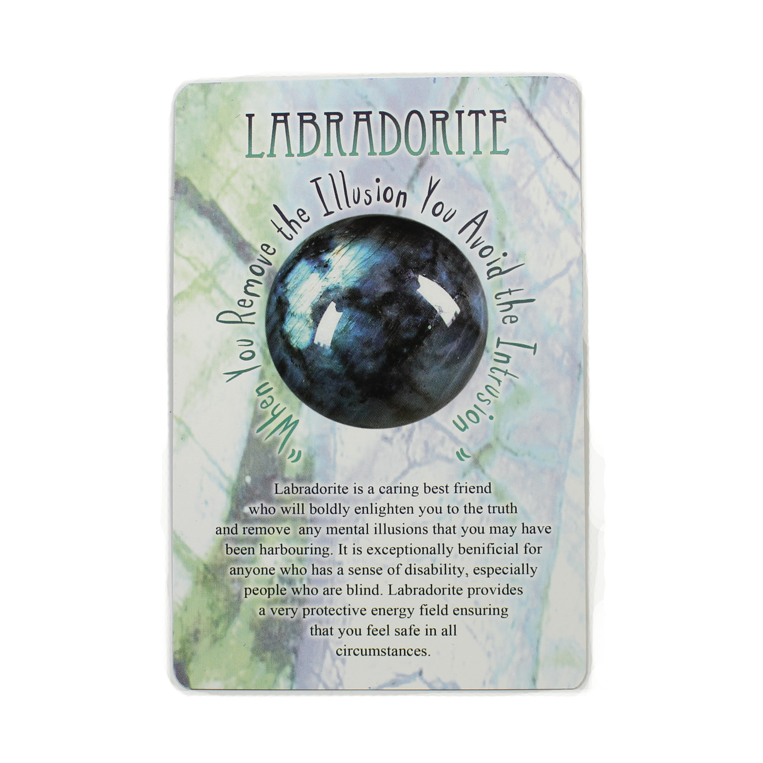 Message from Mother Earth - Labradorite