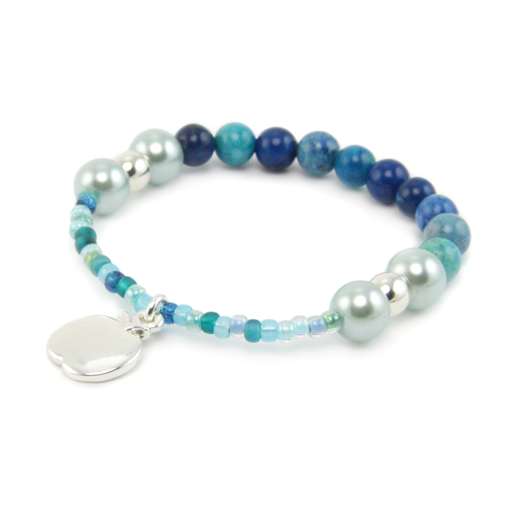 Blueberry Berries Beaded Pipkit Bracelet Kit