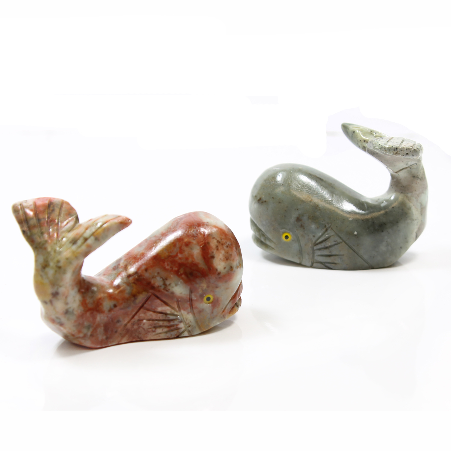 65mm Soapstone Whale