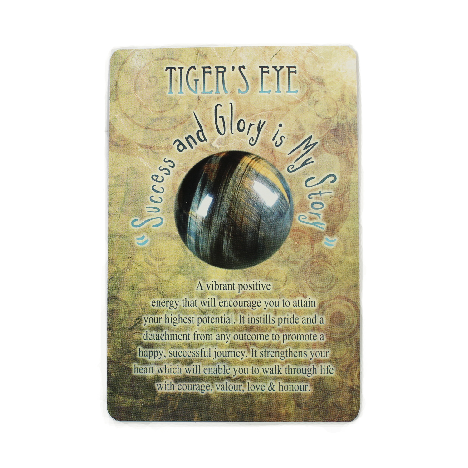 Messages from Mother Earth Tiger Eye